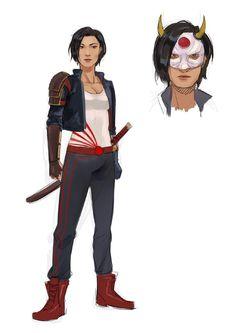 """Also did something for Katana. Katana, Zelda, Fan Art, Comics, Anime, Fictional Characters, Beautiful, Draw, Twitter"