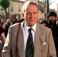 Marcus Brody. Played by Denholm Elliot in Raiders of the Lost Ark and Indiana Jones and the Last Crusade.