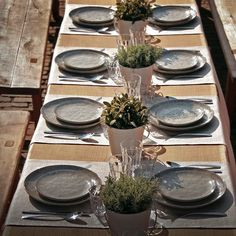 ♡ Pinterest // @annnna123 #leeff #table #settings #borden #servies #tafel
