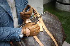 Road Trip w/ Louis Vuitton Keepall Louis Vuitton Shop, Louis Vuitton Keepall 45, Gentlemen Wear, Men Accesories, Mens Gear, Mens Essentials, Messenger Bag Men, Leather Men, Leather Gloves