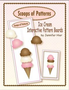 *Please note that this activity is included in my Ice Cream: Activities for Early Childhood Themes. Students will have the opportunity to pract. Preschool Themes, Preschool Activities, Special Needs Teaching, Preschool Summer Camp, Pre K Graduation, Math Patterns, Ice Cream Theme, Interactive Learning, Music Activities