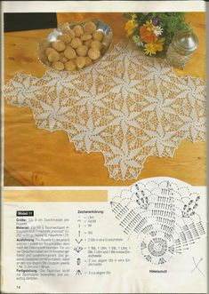Patterns and motifs: Crocheted motif no. 651