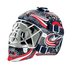 online retailer 5502f 575ec Franklin NHL Team Series Columbus Blue Jackets Mini Goalie Mask (, Size ) -  Pro Licensed Product, Pro Licensed Novelty at Academy Sports