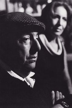 "Pablo Neruda and Matilde ""Will our life not be a tunnel between two vague clarities? Or will it not be a clarity between two dark triangles?"" PABLO NERUDA, The Book of Questions Pablo Neruda, Cinema Tv, Book Writer, Writer Quotes, Writers And Poets, Picture Show, Famous People, Photos, Portrait"
