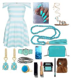 Beauty by the Sea by houslanderl on Polyvore featuring polyvore, fashion, style, New Look, Mabu by Maria BK, Michael Kors, JudeFrances, Crayo, Judith Ripka, London Road, Chanel, Make and clothing