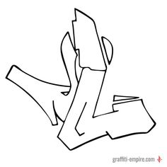 Growing collection of L Graffiti Letters and drawing theory. Use it as a source of inspiration.Semi Wildstyle L Graffiti Letter Graffiti Letter I, Graffiti Alphabet Styles, Graffiti Lettering Alphabet, Graffiti Piece, Graffiti Writing, Tattoo Lettering Fonts, Graffiti Font, Graffiti Designs, Graffiti Characters
