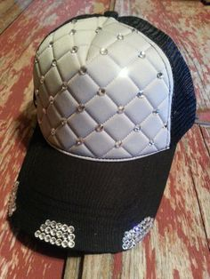 Black   Gray Quilted Rhinestone Bling Diamond by BadaBlingBabe 7a2d92f2326c