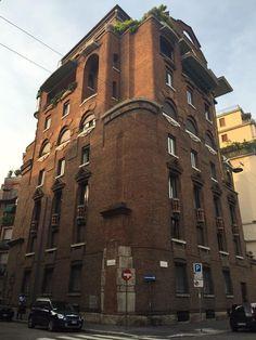 Palazzo Fidia, Aldo Andreani, Milano, 1929-32.