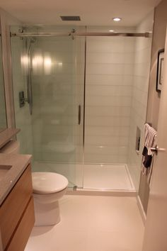 Condo Bathroom Renovation - modern, beautiful and compact |SKG RENOVATIONS