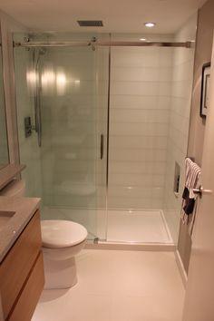 Condo Bathroom Renovation - modern, beautiful and compact |SKG RENOVATIONS