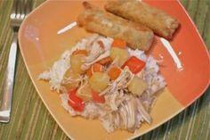 Slow Cooker Pineapple, Pepper Chicken Stew - Dinner