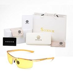 58434b01ee HD Night Driving Glasses Rain Day Driving Anti Glare Polarized Sport  Sunglasses     Check out this great product.