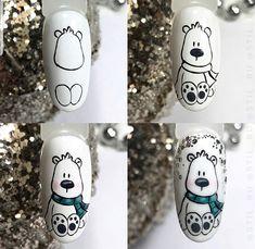 Xmas Nails, Winter Nail Art, Cute Nail Art, Christmas Nail Art, Winter Nails, Xmas Nail Designs, Winter Nail Designs, Nail Art Designs, Nail Swag