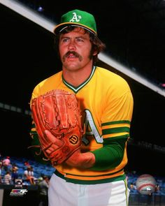 "Jim ""Catfish"" Hunter, Oakland Athletics"