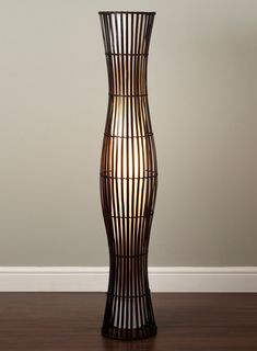 Drawing of Wicker Table Lamps Concept