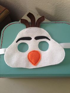 Olaf mask https://www.facebook.com/2Craftysistersstore