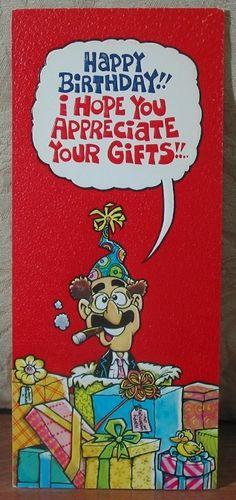 MARK 1 Inc. 1978 Vintage Greeting Card Style 18C Happy Birthday 1.8P723B481217JUNK0303  http://ajunkeeshoppe.blogspot.com/