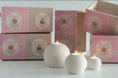 Cajas decoradas con decoupage. www.elpiojito.es