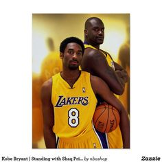Kobe Bryant and Shaquille O'Neal of the Los Angeles Lakers pose for a portrait in Los Angeles, California. Get premium, high resolution news photos at Getty Images Kobe Bryant Family, Lakers Kobe Bryant, Dodgers, Shaq And Kobe, Kobe Bryant Quotes, Kobe Bryant Pictures, Kobe Bryant Black Mamba, Daddy, Shaquille O'neal
