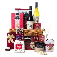 Todhunter - The Fireside Treats Gift Basket
