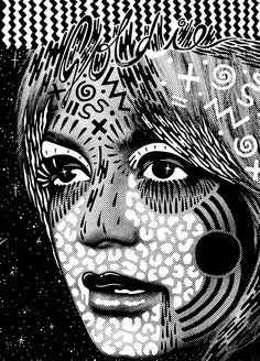 Hattie stewart - drawing on top of images illustration разное. Doodle On Photo, Graphic Art, Graphic Design, Draw On Photos, Doodle Art, Art Direction, Collage Art, Art Inspo, Pop Art