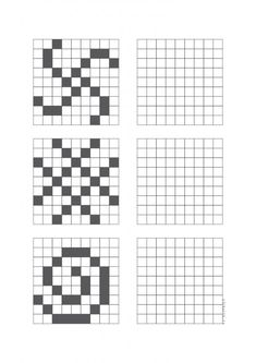 Kids Math Worksheets, Preschool Activities, Dyslexia Activities, Coding For Kids, Math For Kids, Visual Perception Activities, Graph Paper Art, Math Art, Home Schooling
