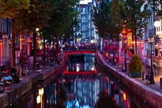 Amsterdam - Red Light District you have to do it at least once in your life!Been there and done it