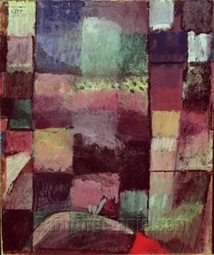 Hammamet 1914 - Paul Klee Paintings