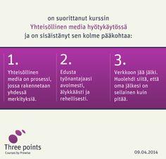 Kiinnostukset: median ja viestinnän oppiminen: yhteisöllinen media hyötykäytössä.