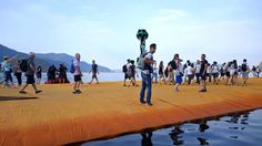 Google Street View e Floating Piers