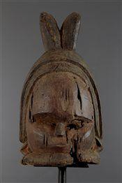 Masque Casque Mende (4173) - Masques - Art Africain