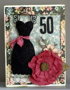 yes this is a Birthday card - but it is also inspiration for a scrapbook page Scrapbook.com
