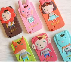 Hellogeeks Jelly Galaxy Note 2 Case