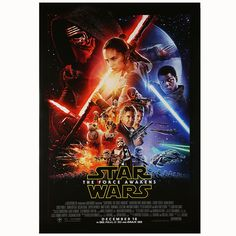 It's here! Bring home a Star Wars: The Force Awakens poster today. But hurry! These won't last long.