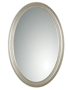 Franklin Oval Mirror, Silver from Uttermost (08601 P), $147.40