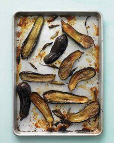 Honey-Roasted Eggplant with Chiles