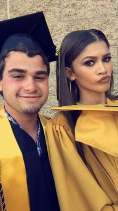 Zendaya at her high school graduation 6/11/15