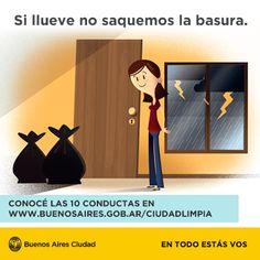 Ciudad Limpia - Conductas