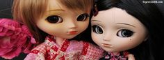 Get our best Big Eyes Cute Doll facebook covers for you to use on your facebook profile.