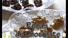 Muchas Recetas - YouTube Rocas de cereales y chocolate
