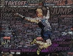 Jumping Wordfoto Gcse Pe, Pe Class, Kids Fitness, Changing Room, Fitness Studio, Exercise For Kids, Physical Education, Long Distance, Word Art