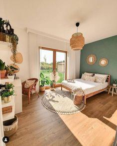 Room Ideas Bedroom, Home Bedroom, Bedroom Decor, Decor Room, Ikea Boho Bedroom, Bedrooms, Aesthetic Room Decor, Dream Rooms, My New Room