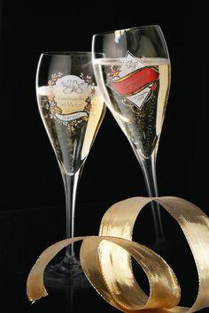 flute de champagne personnalisée