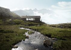 Mountain Cabin - Living with the Nature - Materiality - Wood