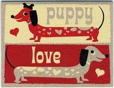The Long and Short of it All: A Dachshund Dog News Magazine: Happy Valentine's Day!
