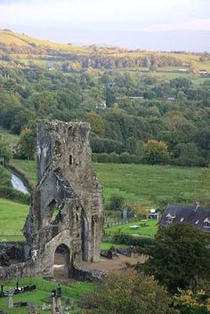 Talley Abbey, Carmarthenshire, Wales, UK