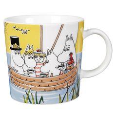 Moomin Summer Mug 2014 Sailing by Arabia Finland #moomin