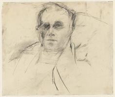 Larry Rivers, Portrait of Edwin Denby, 1953