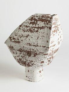 cracked slip roof vase - Matthias Kaiser