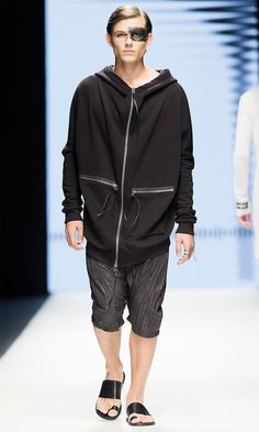 Army Of Mepresented its Spring/Summer 2015 collection duringFashion Week Stockholm.A monochrome palette, with black as the main colour, touches of lighter grey, and all-over prints create a sense of completeness. The fabrics have been... »